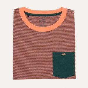 The Original Tee-Shirt Green/Coral