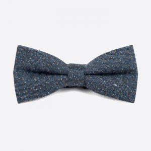 Wool Bow Tie Grey & Multi