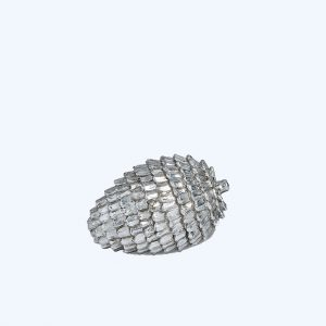Pine Cone Decoration Silver