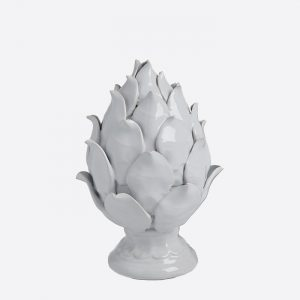 White Ceramic Artichoke