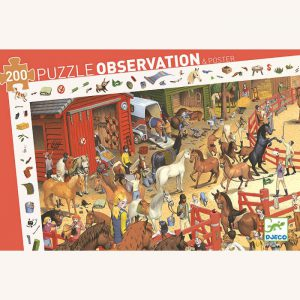 Horse Riding Observation Puzzle