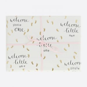 Welcome Little One Gift Wrap