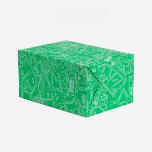Green Map Gift Wrap