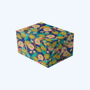 Vibrant Floral Gift Wrap