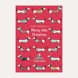 Call Me Frank Merry Little Christmas Card