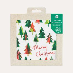 Planet Friendly Christmas Tree Napkins Pack