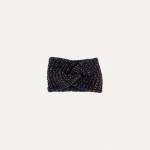 Dina Knitted Headband Black & Copper