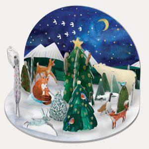 Cub's First Christmas 3D Advent Calendar