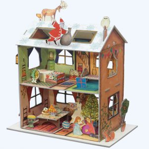 The Night Before Christmas 3D Advent Calendar