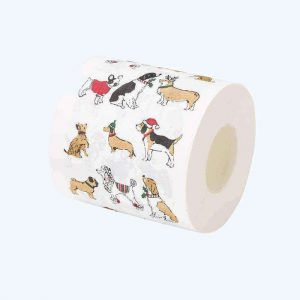 Pooch Christmas Toilet Paper
