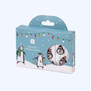 Penguin Parade LED String Lights