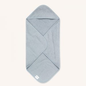 Hooded Baby Bath Towel Blue