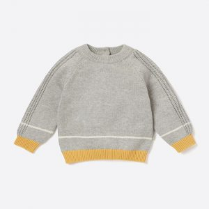 Knitted Jumper Grey