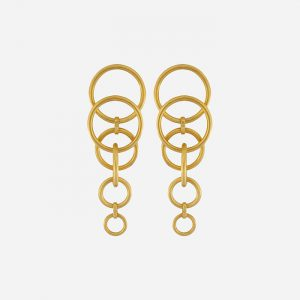 Tabitha Multi-Earring Gold