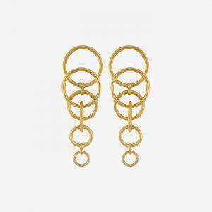 Tabitha Multi-Earring Gold