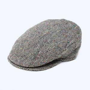Vintage Cap Tweed/Grey Herringbone