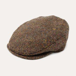 Vintage Cap Tweed/Brown Fleck