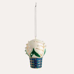 Christmas Ornament Mughetti e Smeraldi
