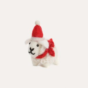 Mini Sheep with Hat Hanging Decoration