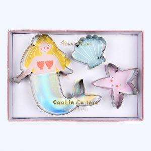 Mermaid Cookie Cutters Set