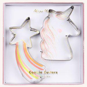 Unicorn Cookie Cutters Set