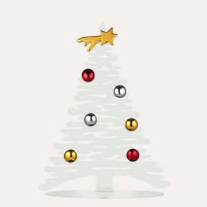 Bark Small White Christmas Tree