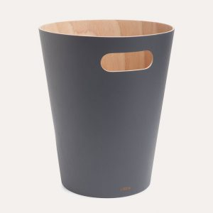 Woodrow Waste Can Charcoal