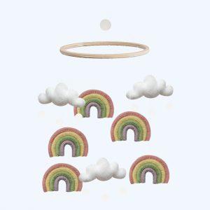 Rainbow Mobile Pastel