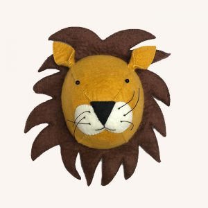 Lion Animal Head Orange