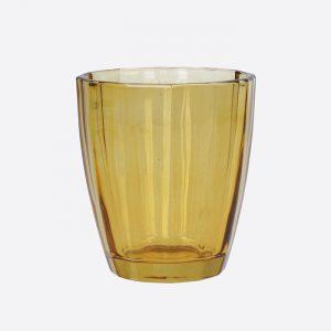 Glass Tumbler Amber