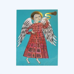 Angel with Trumpet Card