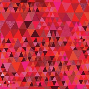 Red Triangles Gift Wrap