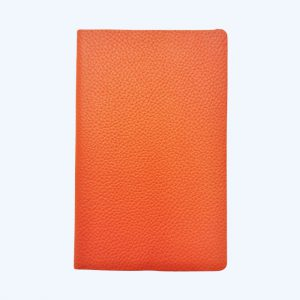 Leather Pocket Notebook Orange