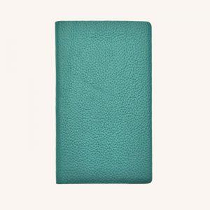 Leather Pocket Notebook Teal