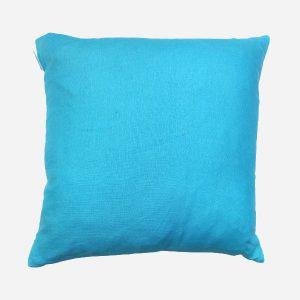 Plain Cushion Turquoise
