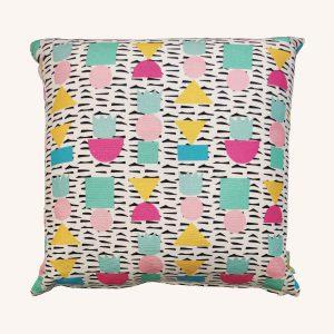 King of Shapes Cushion Multicolour