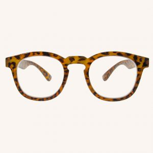 Kitty Reading Glasses Brown Leopard