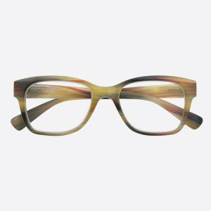 West Reading Glasses Brown Stripe