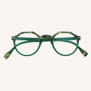 Keaton Reading Glasses Tortoiseshell/Green