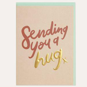 Sending You a Hug Card