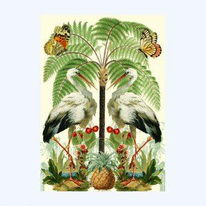The Cranes Card