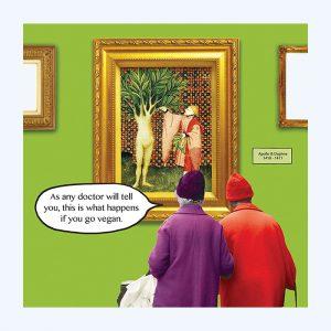 Vegan Humour Card