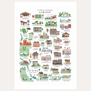 A Walk Around Ludlow Framed Print