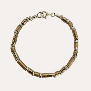 Gorgeous Silver and Gold Bracelet