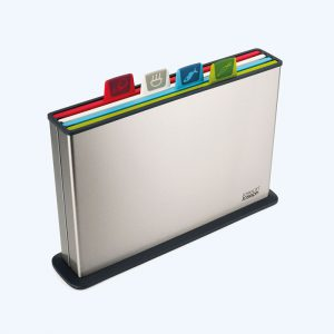 Index Silver Large Chopping Board Set