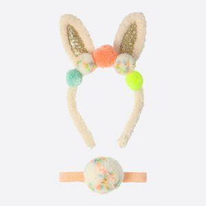 Pom Pom Bunny Dress Up Set