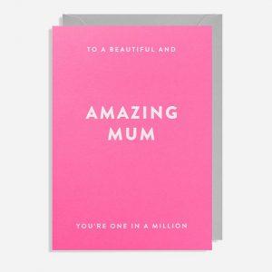 Amazing Mum Card
