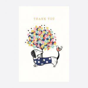 Frank Bouquet Thank You Notecards Set