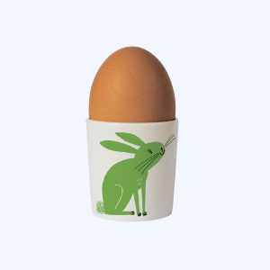 Happiness Egg Cup Rabbit Green