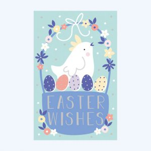 Easter Wishes Chick Pack of 6 Cards